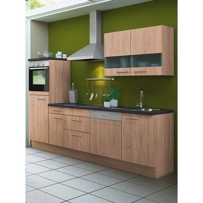 optifit k chenzeile lasse kcla2746e 8 270 cm eiche hell nachb kaufen bei obi. Black Bedroom Furniture Sets. Home Design Ideas