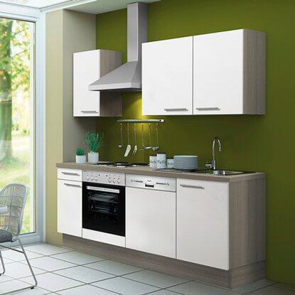 optifit k chenzeile torger kcto2102e 8 210 cm wei pinie nougat kaufen bei obi. Black Bedroom Furniture Sets. Home Design Ideas