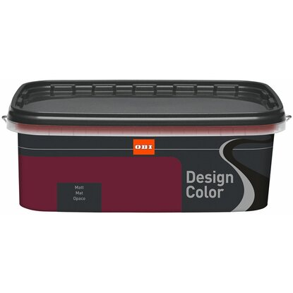 OBI Design Color Cassis matt 2,5 l