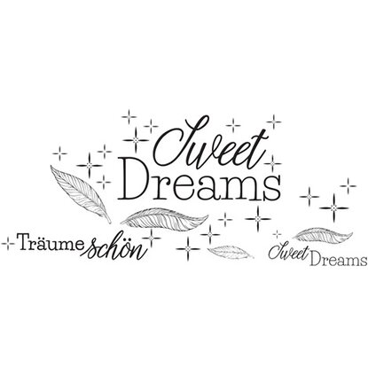 Euroart Wandsticker Sweet Dreams 50 cm x 70 cm