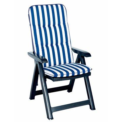 klappsessel santiago blau inkl polsterauflage kaufen bei obi. Black Bedroom Furniture Sets. Home Design Ideas