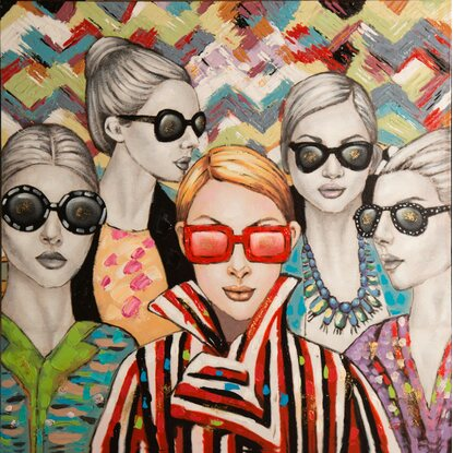 Originalbild Rimbo Fashion 100 cm x 100 cm