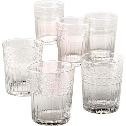 Best of home Wasserglas-Set 6-teilig Klar