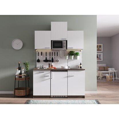 respekta k chenzeile kb150eywmi 150 cm wei eiche york nachbildung kaufen bei obi. Black Bedroom Furniture Sets. Home Design Ideas