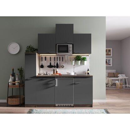 respekta k chenzeile kb180eygmi 180 cm grau eiche york nachbildung kaufen bei obi. Black Bedroom Furniture Sets. Home Design Ideas