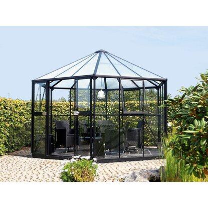 gew chshaus hera 9000 esg 3 mm hkp 6 mm schwarz inkl fundament kaufen bei obi. Black Bedroom Furniture Sets. Home Design Ideas