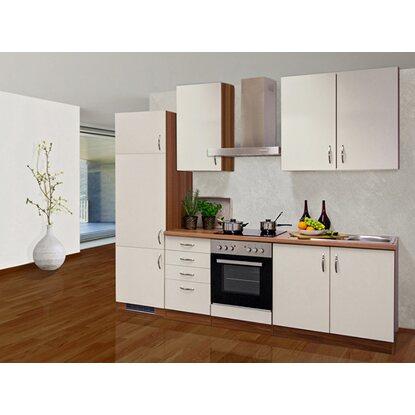 flex well exclusiv k chenzeile sienna 270 cm creme zwetschge nachbildung kaufen bei obi. Black Bedroom Furniture Sets. Home Design Ideas