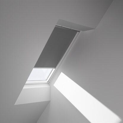 velux verdunkelungsrollo dkl s08 0705s grau kaufen bei obi. Black Bedroom Furniture Sets. Home Design Ideas