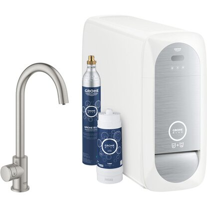 Grohe Mono Starter Kit Blue Home Supersteel