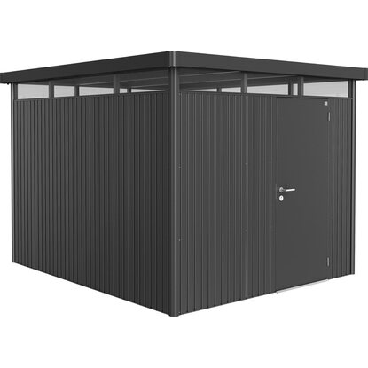 biohort ger tehaus highline gr e h5 dunkelgrau metallic standardt r kaufen bei obi. Black Bedroom Furniture Sets. Home Design Ideas