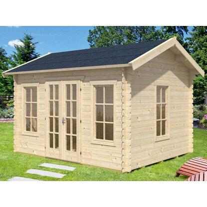 skan holz holz gartenhaus milano natur b x t 380 cm x 300 cm kaufen bei obi. Black Bedroom Furniture Sets. Home Design Ideas