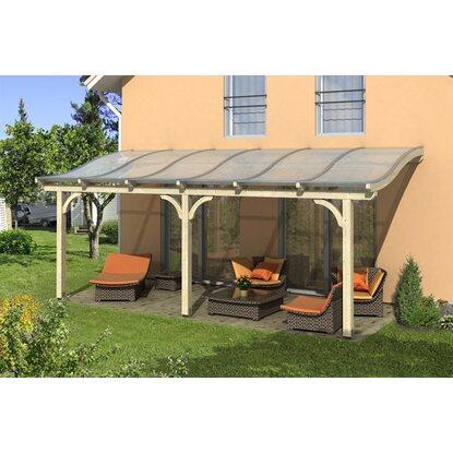 skan holz terrassen berdachung venezia b x t 648 cm x 339 cm leimholz natur kaufen bei obi. Black Bedroom Furniture Sets. Home Design Ideas