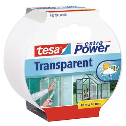 Tesa Extra Power páska 10 m x 48 mm transparentná