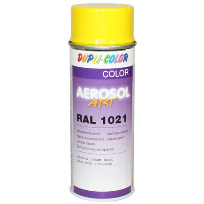 Dupli-Color Lackspray Aerosol-Art RAL 1021 Rapsgelb 400 ml