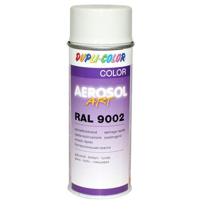 Dupli-Color Lackspray Aerosol-Art RAL 9002 Grauweiß 400 ml