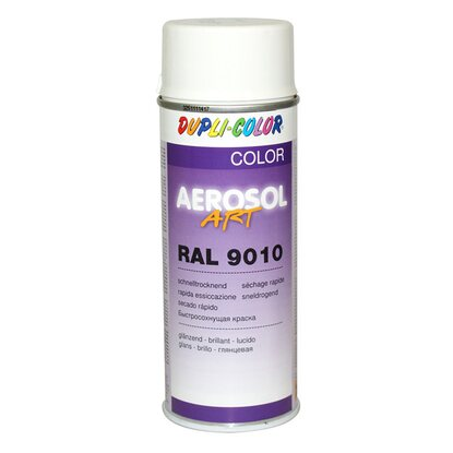 Dupli-Color Lackspray Aerosol-Art RAL 9010 Reinweiß 400 ml