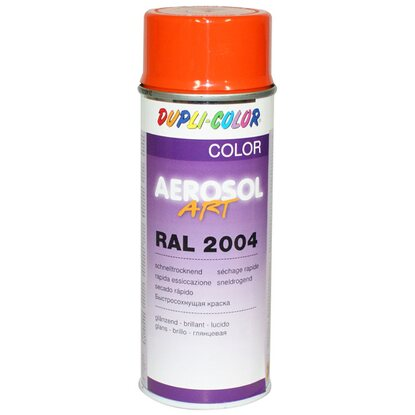 Dupli-Color Lackspray Aerosol-Art RAL 2004 Reinorange 400 ml