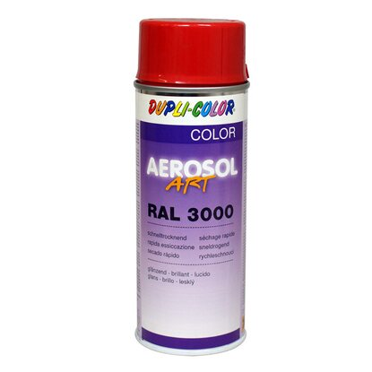 Dupli-Color Lackspray Aerosol-Art RAL 3000 Feuerrot 400 ml