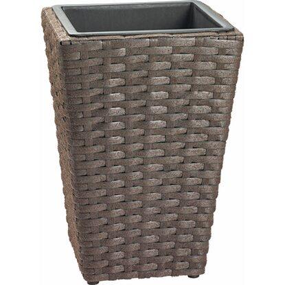 kunststoff bertopf 40 cm x 28 cm x 28 cm anthrazit kaufen bei obi. Black Bedroom Furniture Sets. Home Design Ideas