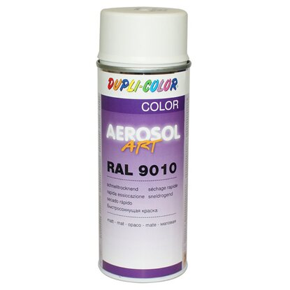 Dupli-Color Lackspray Aerosol-Art RAL 9010 Reinweiß matt 400 ml