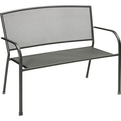 cmi gartenbank 2 sitzer streckmetall art nr 5614185. Black Bedroom Furniture Sets. Home Design Ideas