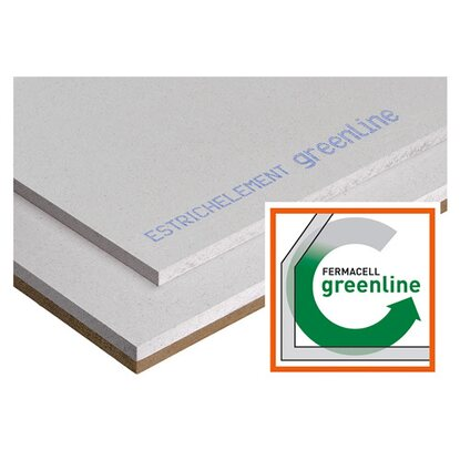 Fermacell Estrichelement HF Greenline 30 mm x 1500 mm x 500 mm