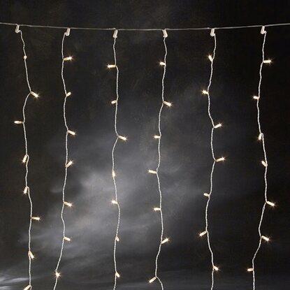konstsmide microlight lichtervorhang 160 klar 24 v kaufen bei obi. Black Bedroom Furniture Sets. Home Design Ideas