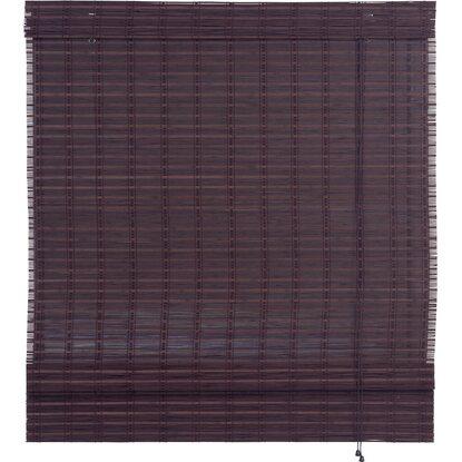 obi bambus raffrollo mataro 60 cm x 160 cm teak kaufen bei obi. Black Bedroom Furniture Sets. Home Design Ideas