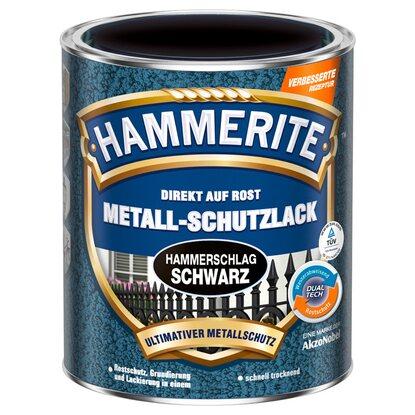 hammerite metall schutzlack schwarz hammerschlag 250 ml. Black Bedroom Furniture Sets. Home Design Ideas