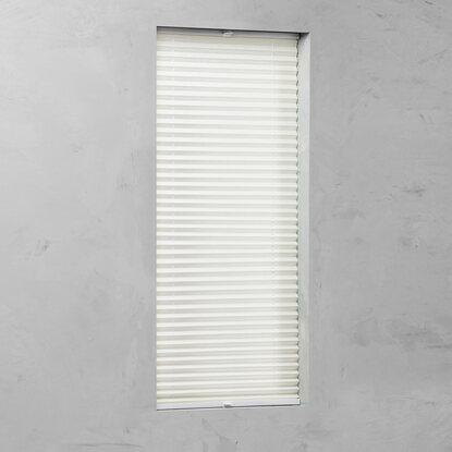 plissee verspannt 20 mm creme 85 cm x 130 cm kaufen bei obi. Black Bedroom Furniture Sets. Home Design Ideas