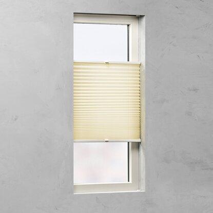 cocoon plissee tageslicht 20 mm gelb 75 cm x 220 cm kaufen bei obi. Black Bedroom Furniture Sets. Home Design Ideas