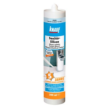 Knauf Sanitär-Silikon Crocus Plus 300 ml