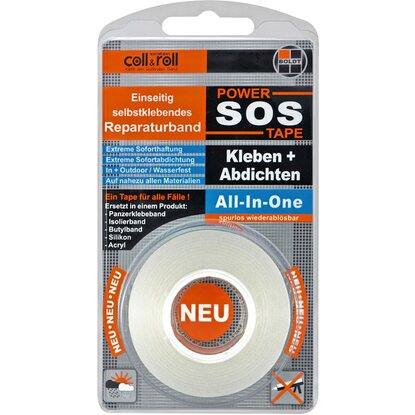 Coll+Roll Reparaturband SOS Power Tape 1,5 m