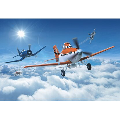 Komar Fototapete Disney Planes above the Clouds 368 cm x 254 cm