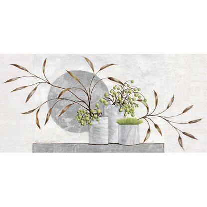 eurographics leinwandbild canvas art silver moon 115 cm x. Black Bedroom Furniture Sets. Home Design Ideas