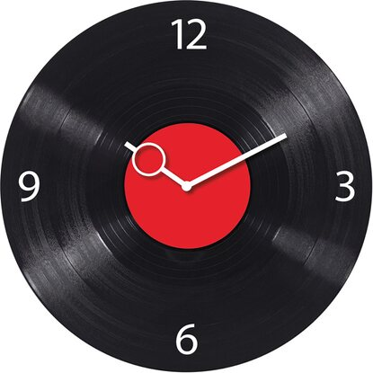 Eurographics Wanduhr Time Art Time Disk 30 cm x 30 cm