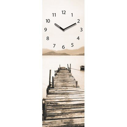 Eurographics Wanduhr Time Art Natural Tranquility 20 cm x 60 cm