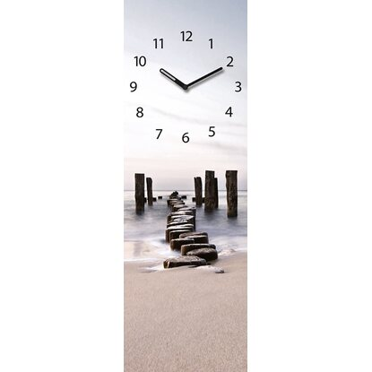 Eurographics Wanduhr Time Art Path to Silky Sky 20 cm x 60 cm