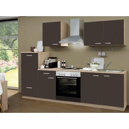 Menke Küchenblock Ohne Elektrogeräte Classic 270 Cm In Weiß Matt