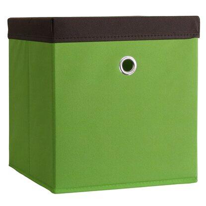 Stoffbox Mit Deckel : vcm stoffbox boxas gr n mit deckel kaufen bei obi ~ Frokenaadalensverden.com Haus und Dekorationen