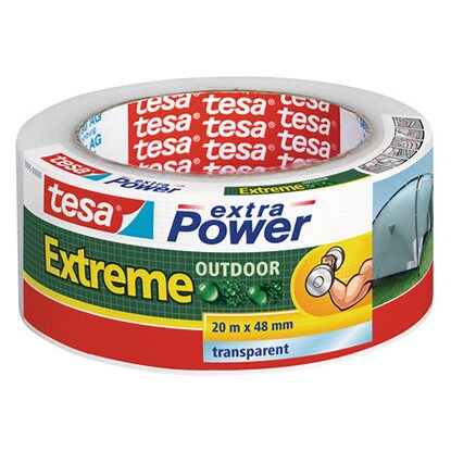 Tesa Extra Power Extreme Outdoor Transparent 20 m x 48 mm