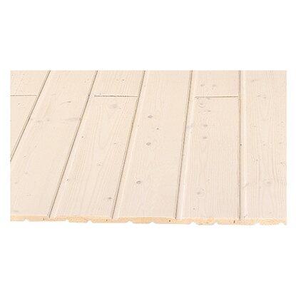profilholz gewachst endlos verlegbar nut und feder 12 5 mm x 121 mm x 1450 mm kaufen bei obi. Black Bedroom Furniture Sets. Home Design Ideas