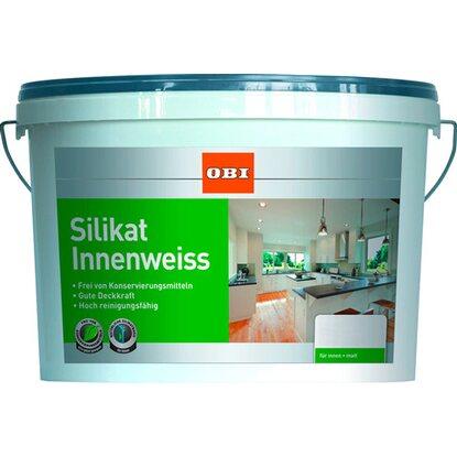 obi silikat innenweiss matt 5 l kaufen bei obi. Black Bedroom Furniture Sets. Home Design Ideas