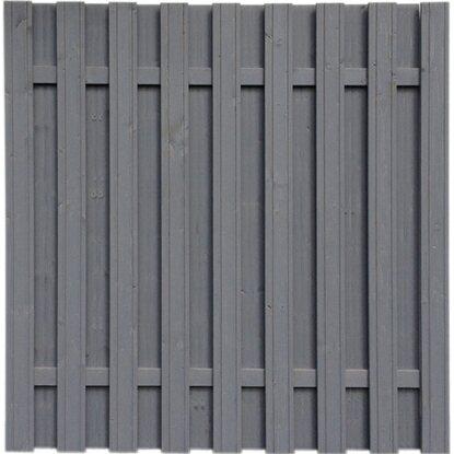 Sichtschutzzaun Element Seattle Grau 180 X 180 Cm Kaufen Bei Obi
