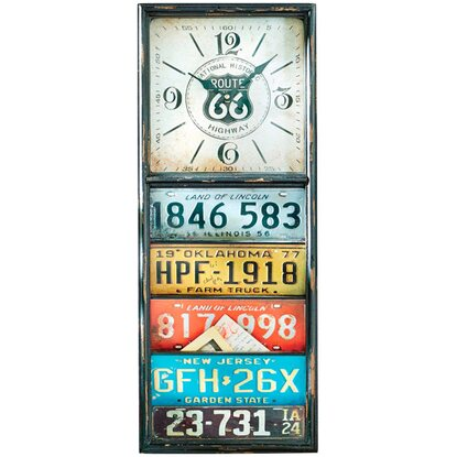 Best of home Wanduhr Number Plates