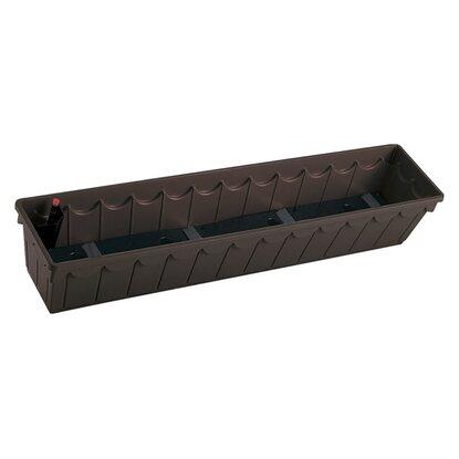 emsa blumenkasten palazzo 100 cm braun kaufen bei obi. Black Bedroom Furniture Sets. Home Design Ideas