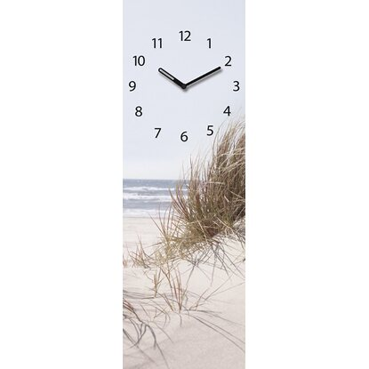 Eurographics Wanduhr Time Art Sea of Dunes 20 cm x 60 cm