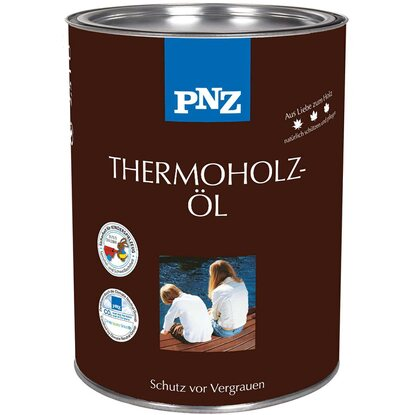 PNZ Thermoholzöl Braun 750 ml