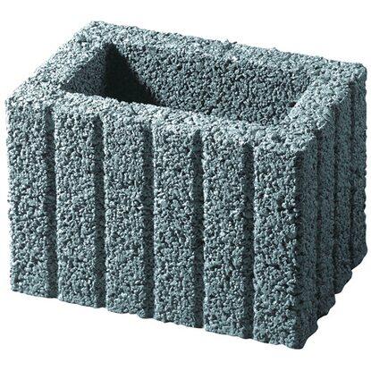 kann pflanzstein mini grau 30 cm x 20 cm x 20 cm kaufen bei obi. Black Bedroom Furniture Sets. Home Design Ideas
