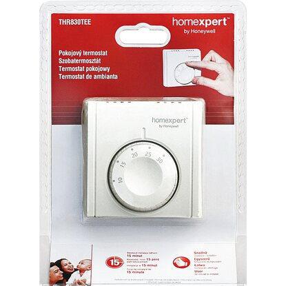Homexpert Mechanischer Raumthermostat THR830TBG